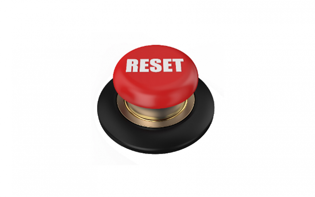 There is No Reset Button
